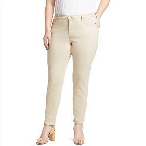 NWT NYDJ Ami Stretch Skinny Jeans Plus Size 14 14W